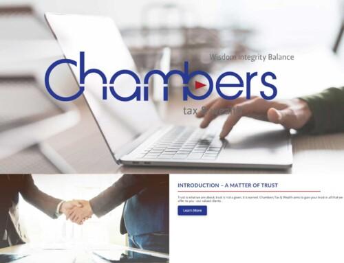 Chambers Tax & Wealth – Website design