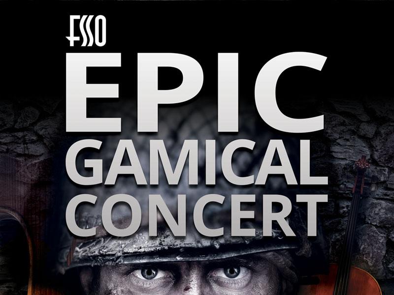 FFSO Epic Gamical Poster Design 03 - FSSO Epic Gamical Consert – Poster design