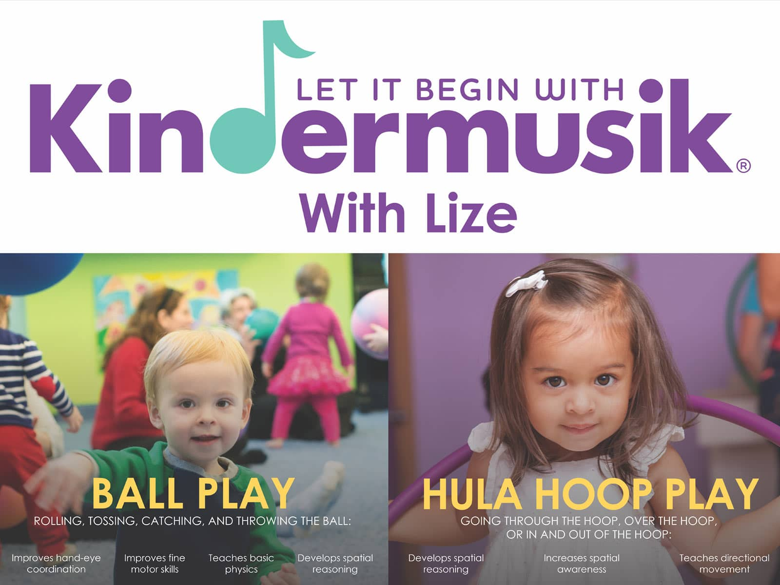 Kindermusiek Poster design - Kindermusiek with Lize – Poster design Kindermusiek Poster design - Graphic design