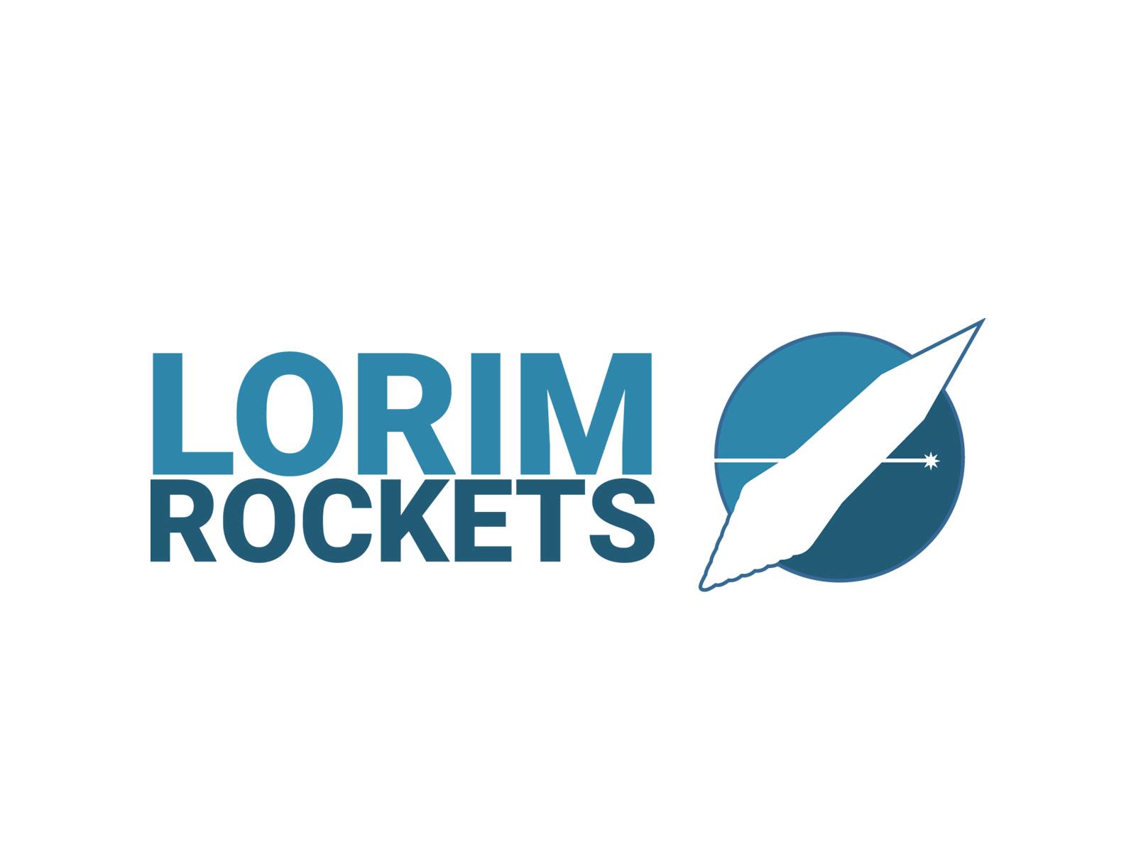 Lorim rocket logo - Daily Logo Challenge – Rocket Lorim rocket logo - Recent Work