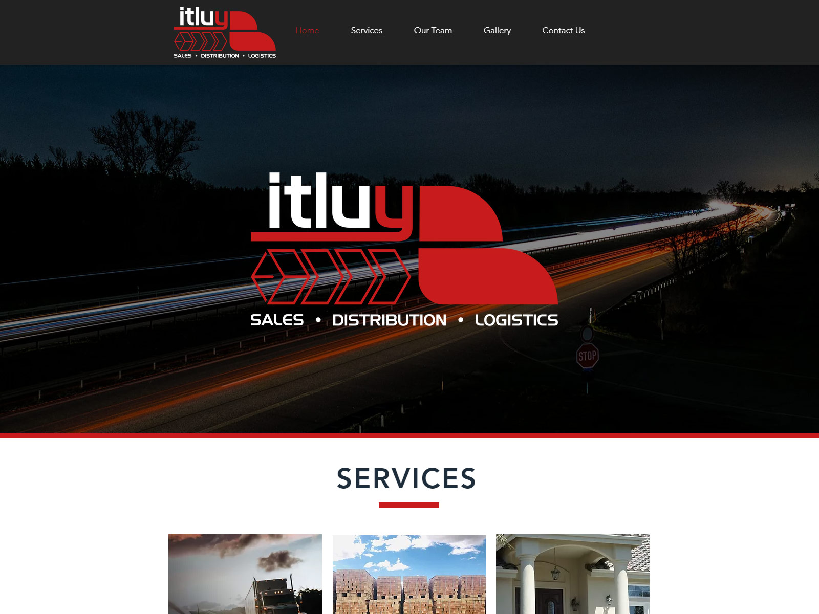 ITLUY Marketing – Website redesign