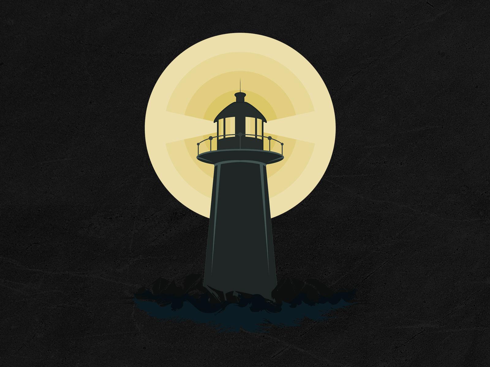 Light up the darkness landing image - Lighthouse – Light up the dark Light up the darkness landing image - Portfolio – Print on demand
