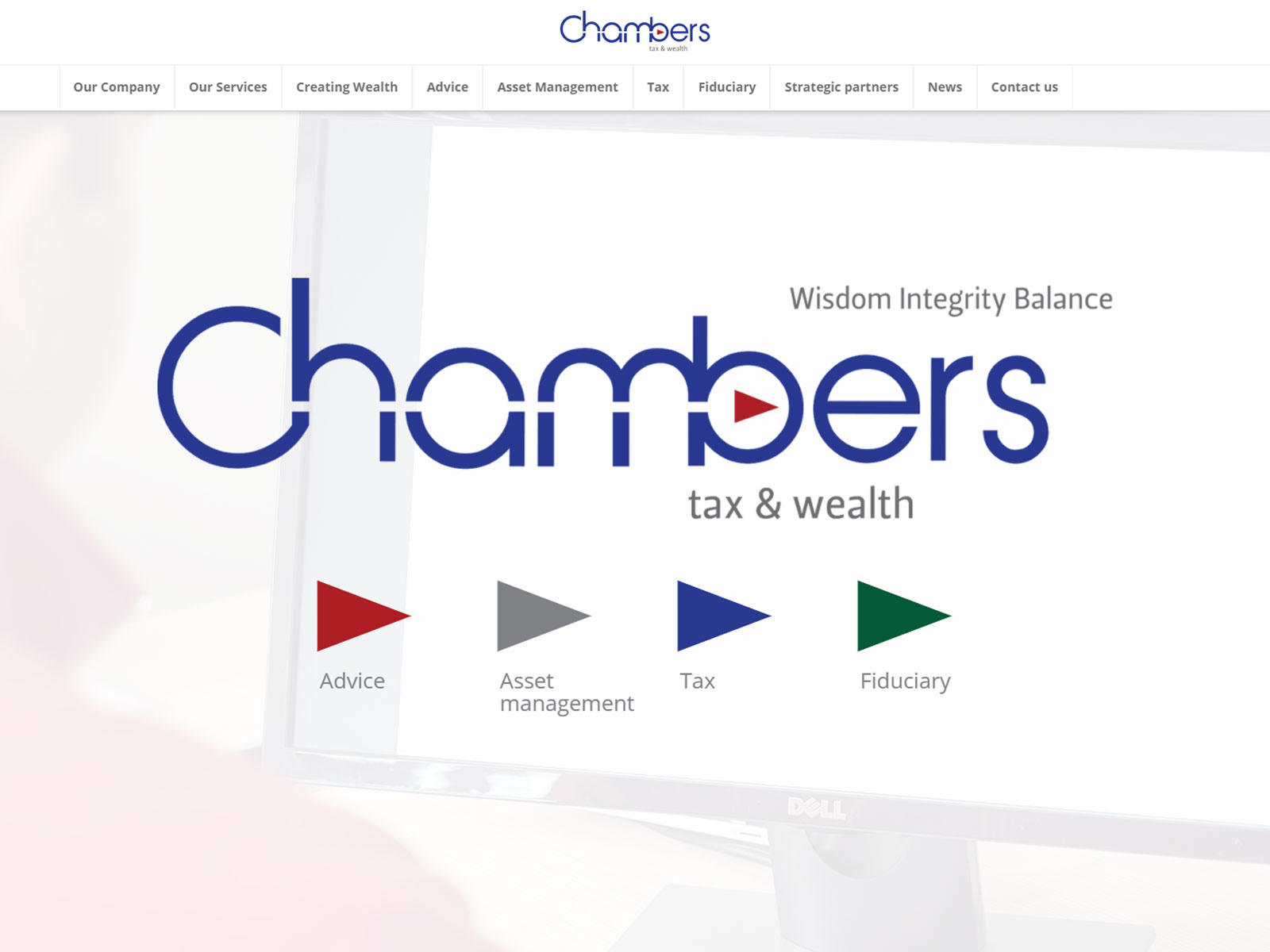 Chambers Tax Wealth Website - Chambers Tax and Wealth Website Redesign Chambers Tax Wealth Website - Graphic design